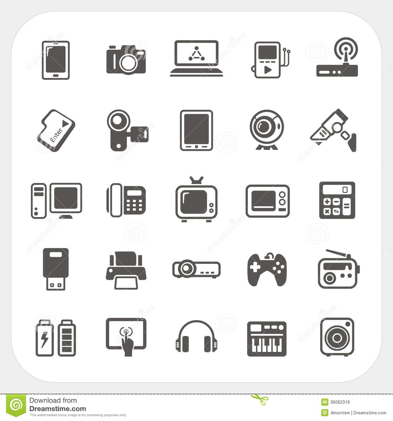 Electronics clipart free banner black and white download Electronics clipart free - ClipartFest banner black and white download
