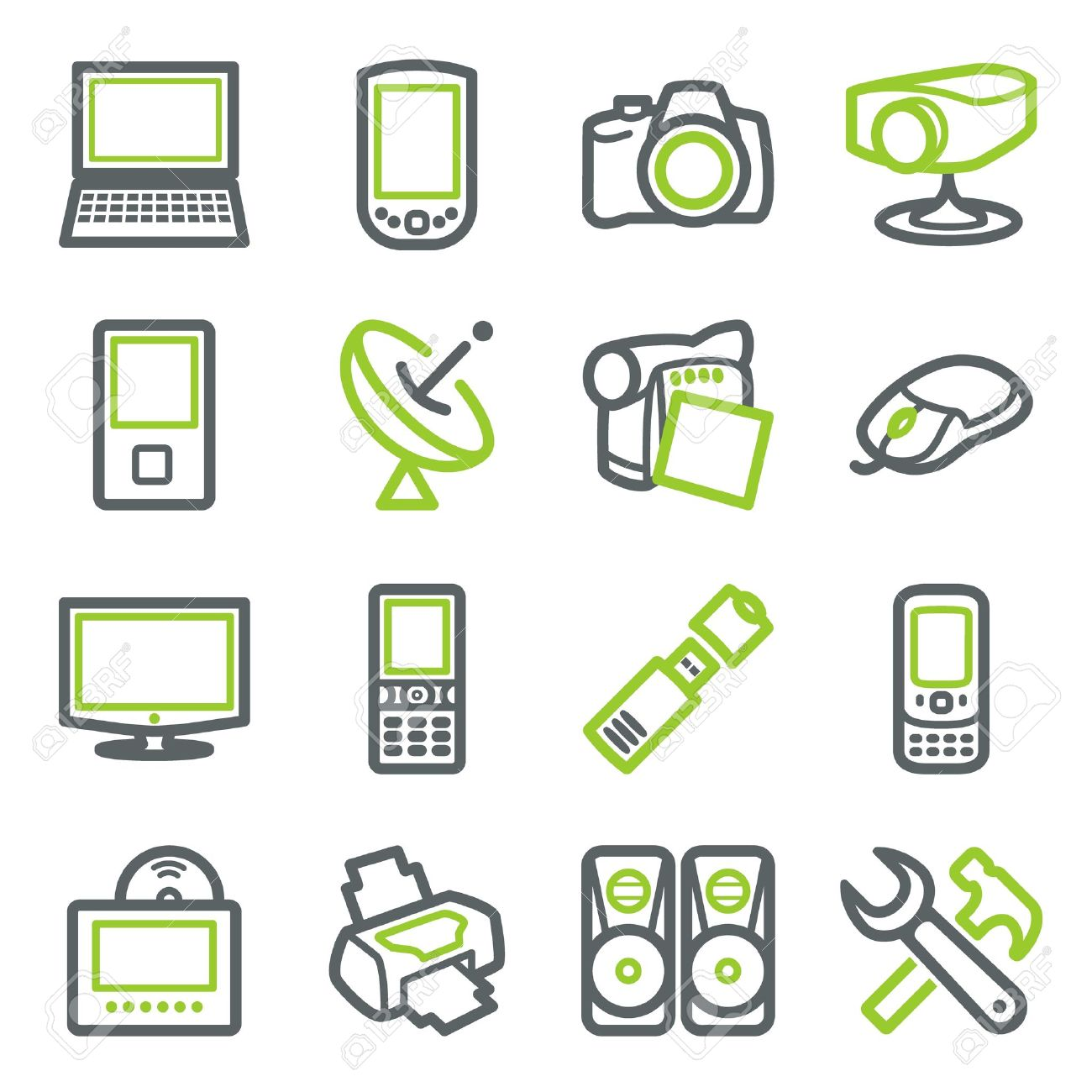 Electronics cliparts image free Electronics Icons For Web. Royalty Free Cliparts, Vectors, And ... image free