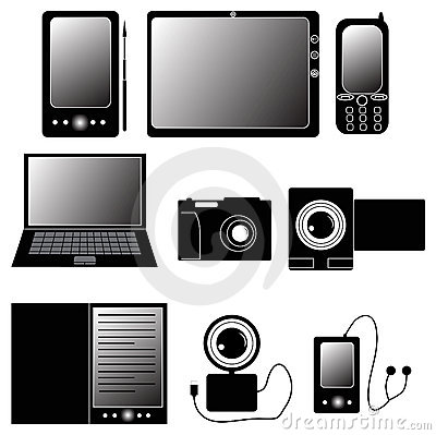 Electronics cliparts graphic royalty free stock Electronics clip art - ClipartFest graphic royalty free stock