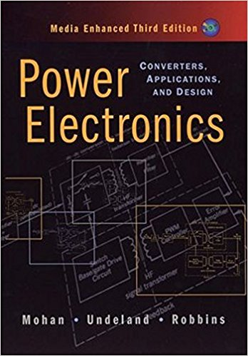 Electronics design book vector library Power Electronics: Converters, Applications, and Design: Ned Mohan ... vector library