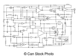 Electronics schematic clipart graphic royalty free stock Schematic Stock Photo Images. 7,915 Schematic royalty free images ... graphic royalty free stock