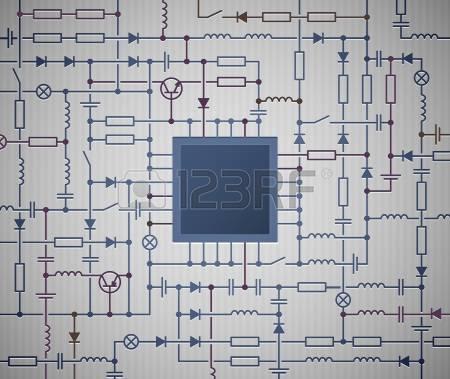 Electronics schematic clipart clip transparent download 500 Electronic Schematic Cliparts, Stock Vector And Royalty Free ... clip transparent download