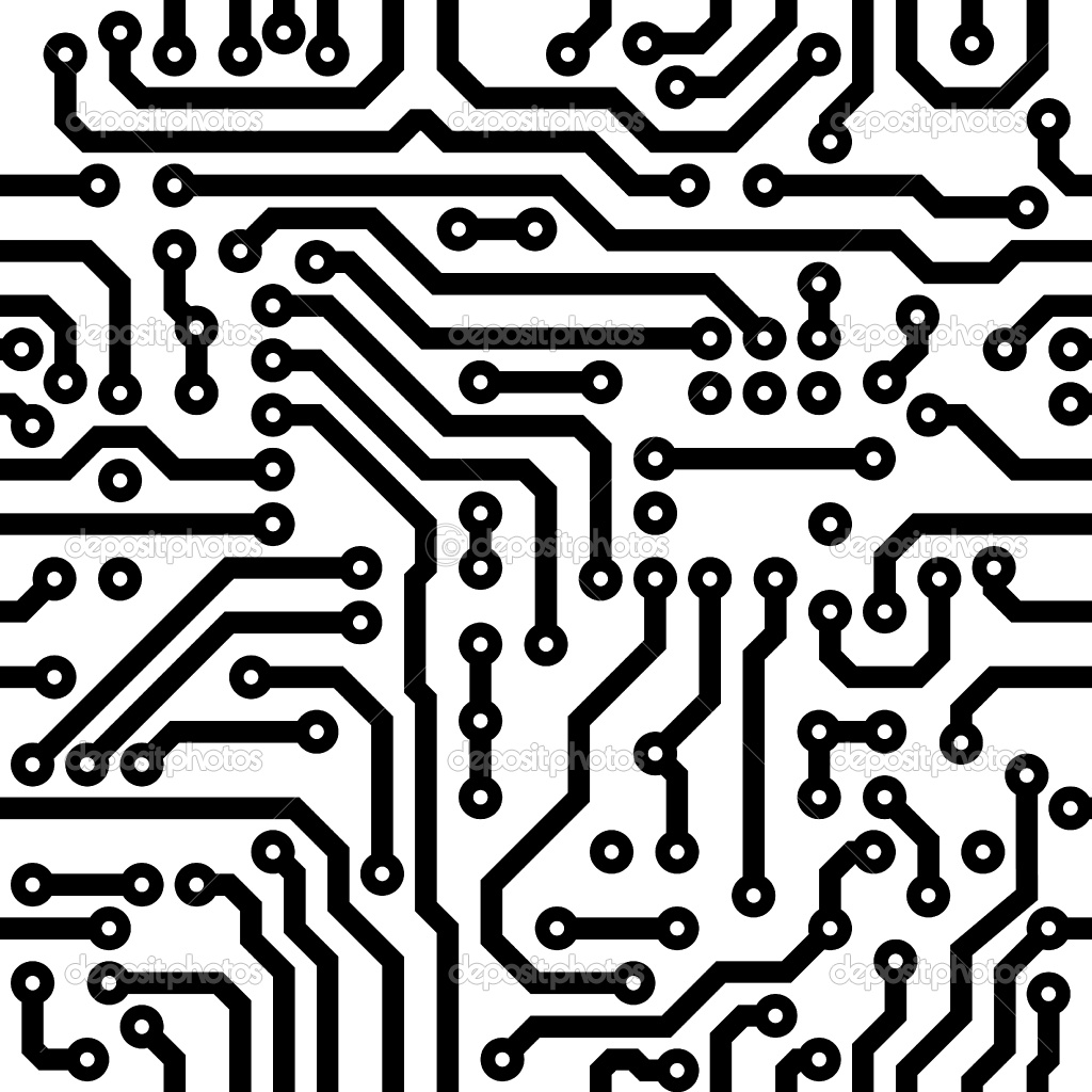 Electronics schematic clipart svg library stock Electronic Schematic Clip Art. Electronic. Free Printable Wiring ... svg library stock