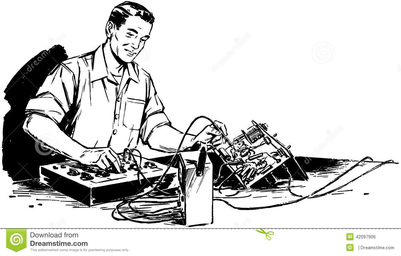 Library of electronics technician clipart library stock png files Clipart Art 2019