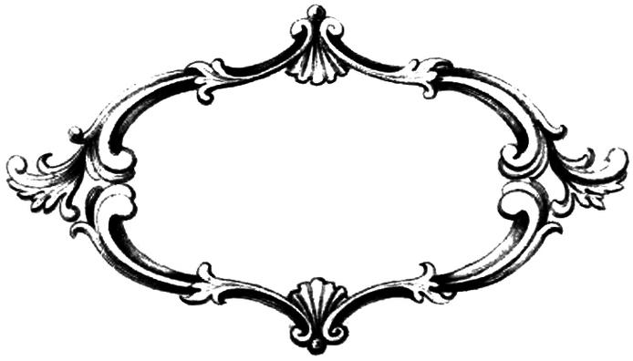 Elegant border frame clipart picture royalty free library Free border frame clipart - ClipartFest picture royalty free library