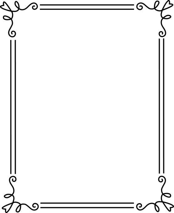 Elegant border frame clipart banner transparent 17 Best ideas about Borders And Frames on Pinterest | Border ... banner transparent