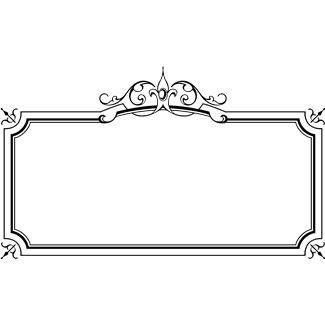 Elegant border frame clipart svg free Elegant border frame clipart - ClipartFest svg free