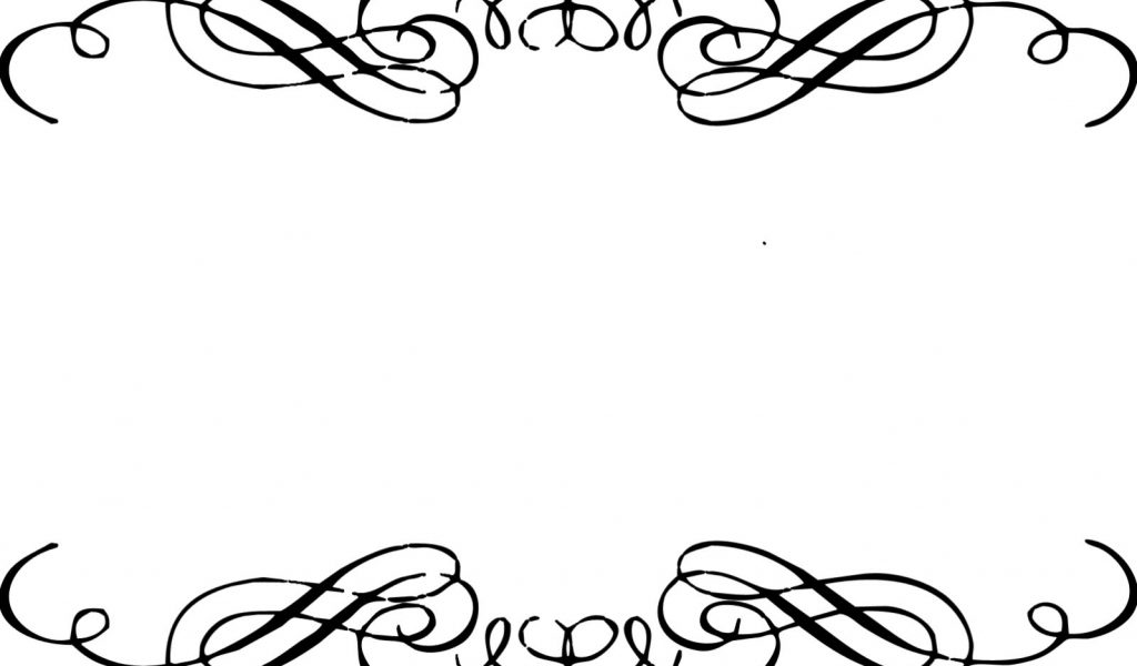 Elegant clipart banner transparent library Elegant Border Clip Art & Elegant Border Clip Art Clip Art Images ... banner transparent library