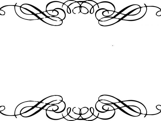 Elegant clipart clip art black and white download Elegant border clip art - ClipartFest clip art black and white download