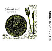 Elegant dinner clipart graphic black and white Elegant lunch clipart - ClipartFest graphic black and white
