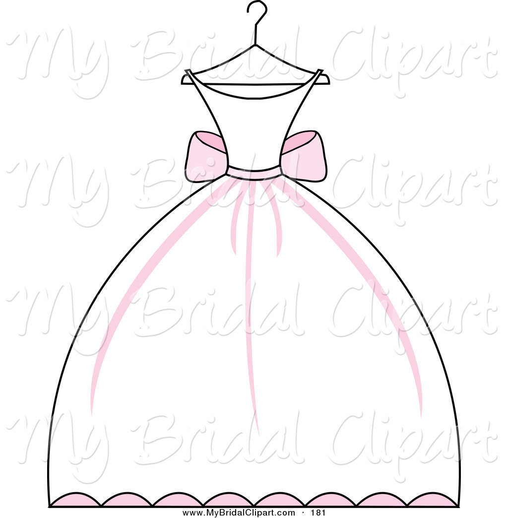 Princess dress clipart black and white stock Elegant Wedding Clipart | Free download best Elegant Wedding Clipart ... stock