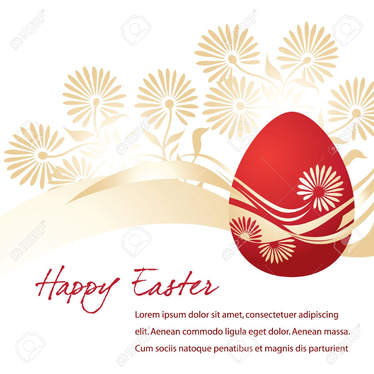 Elegant easter clipart vector black and white Elegant Egg For Easter Holiday Celebration Royalty Free Cliparts ... vector black and white