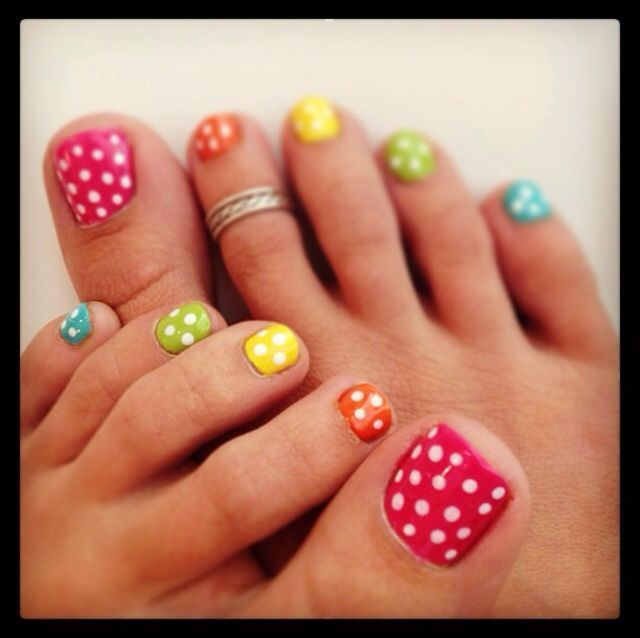 Elegant female hand and feet clipart outline nail polish picture library Polka Dot | Pedi | Spring Colors | Simply Elegant | Fort Mill SC ... picture library