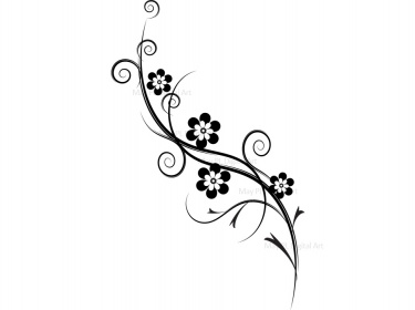 Elegant flowers clipart picture free library Elegant flowers clipart - ClipartFest picture free library