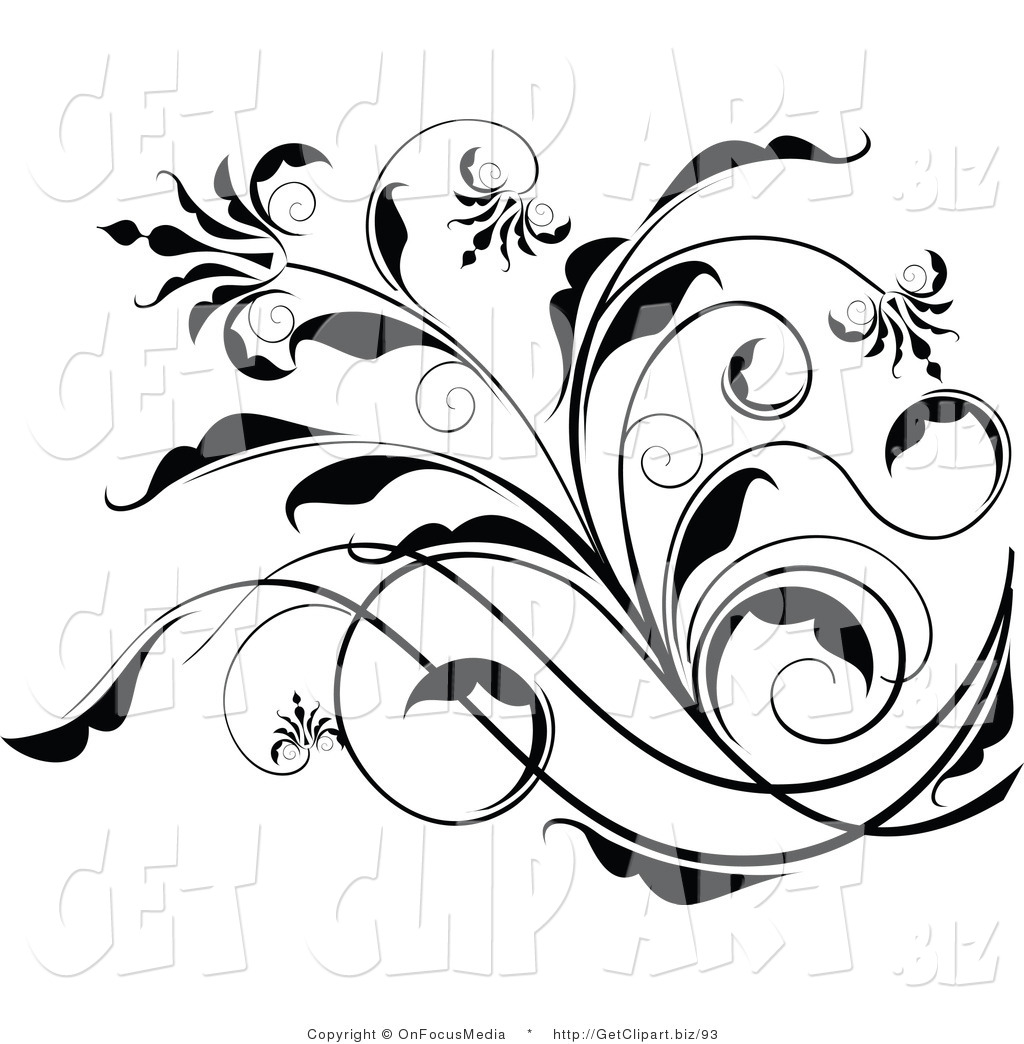 Elegant Flower Clipart - Clipart Kid svg library download