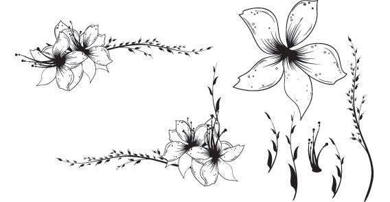 Elegant flower clip art - ClipartFest jpg free stock
