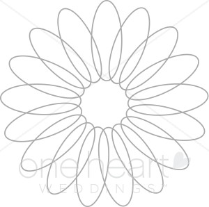 Elegant Flower Clipart - Clipart Kid picture black and white library