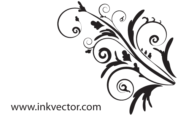 Elegant Flower Clipart - Clipart Kid svg black and white library