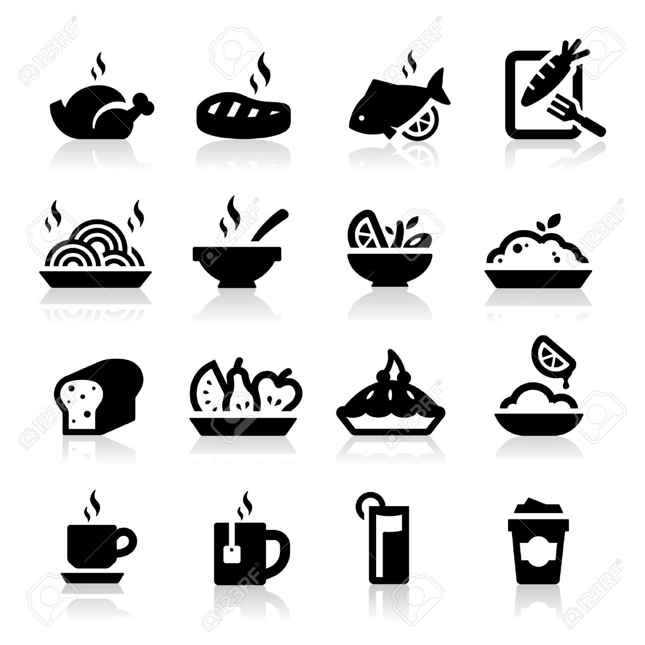 14,976 Elegant Food Stock Vector Illustration And Royalty Free ... banner free library