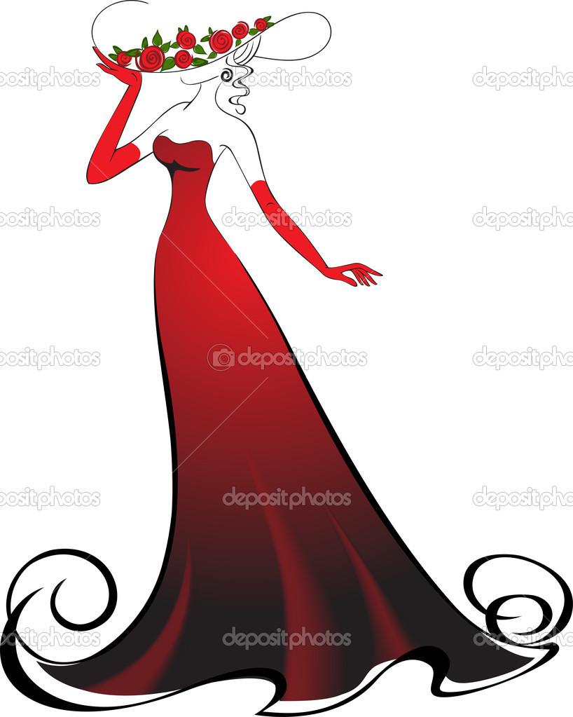Elegant Woman Clipart - Clipart Kid picture download