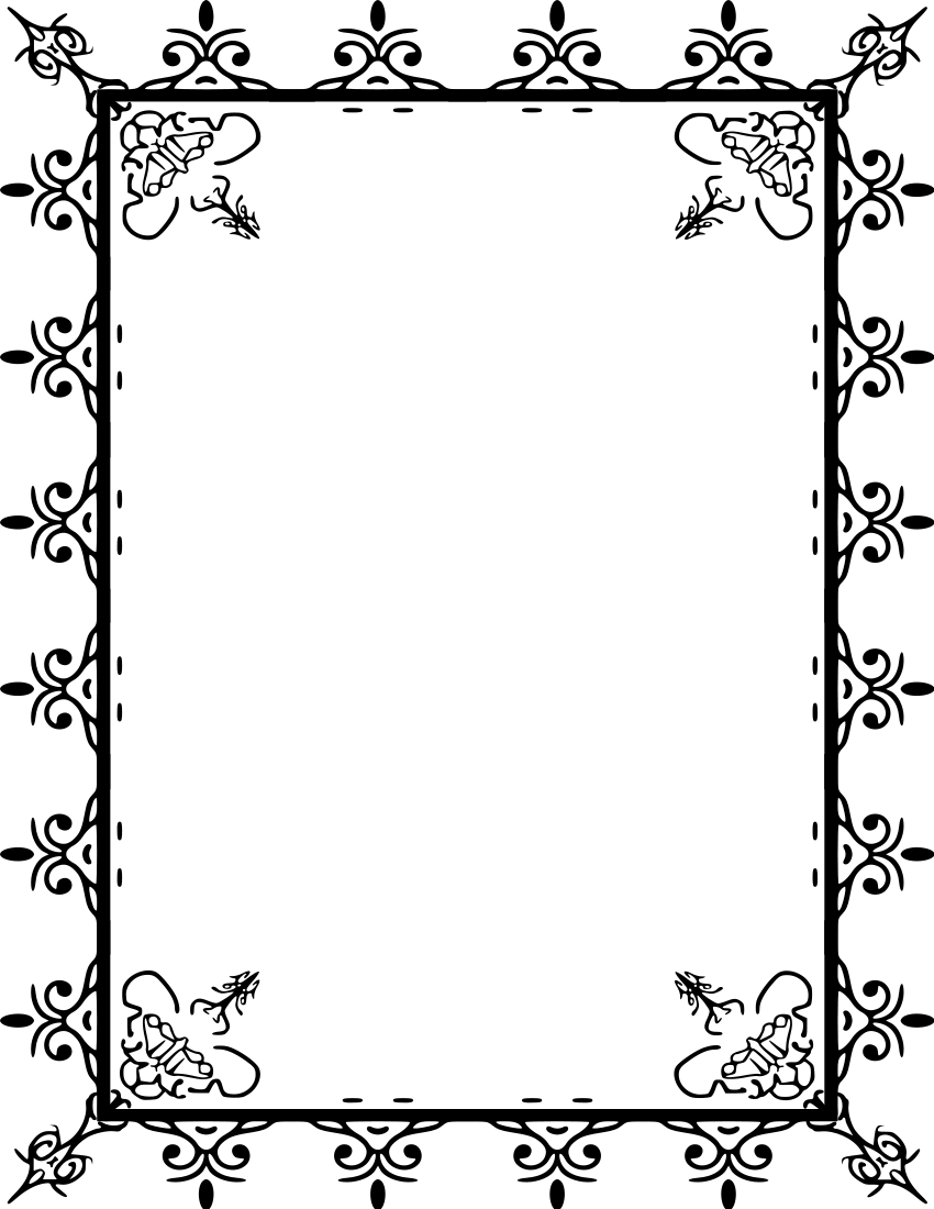Elegant page borders clipart clip freeuse download Page Border Clip Art & Page Border Clip Art Clip Art Images ... clip freeuse download