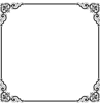 Elegant page borders clipart image freeuse download Elegant Page Borders | Free Download Clip Art | Free Clip Art | on ... image freeuse download