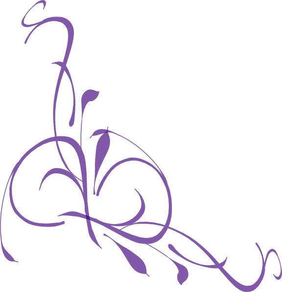 Purple flower border clipart picture royalty free stock Elegant Purple Clipart picture royalty free stock