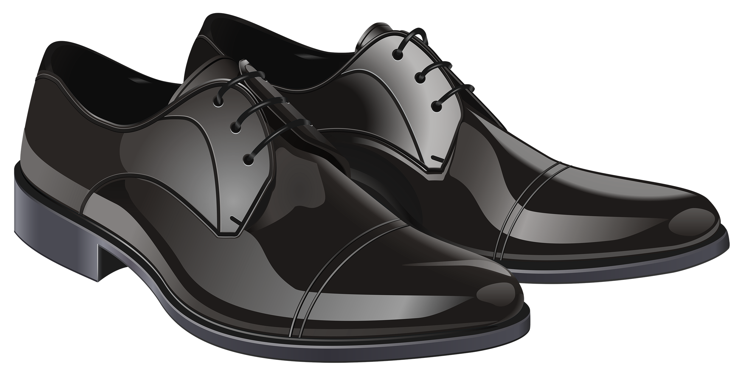 Shoes that cost a lot of money clipart jpg royalty free stock Black Elegant Men Shoes PNG Clipart - Best WEB Clipart jpg royalty free stock