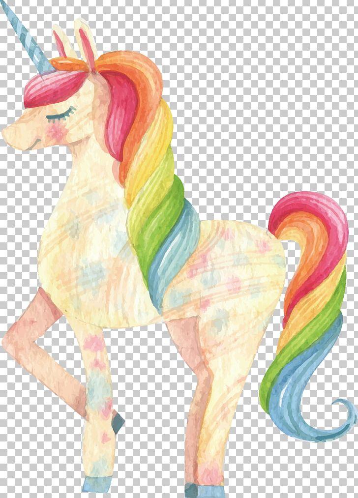 Elegant unicorn clipart