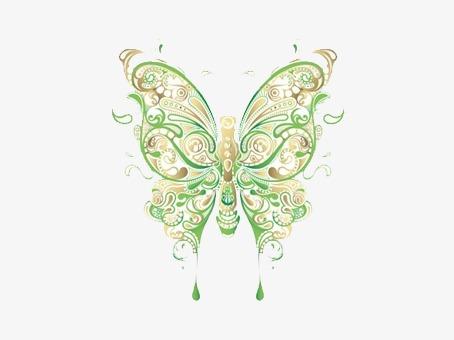 Elegantbutterfly clipart