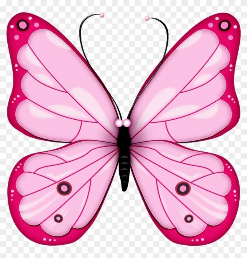 Elegantbutterfly clipart image black and white Pink Butterfly Png Image, Butterflies - Butterfly Clipart ... image black and white