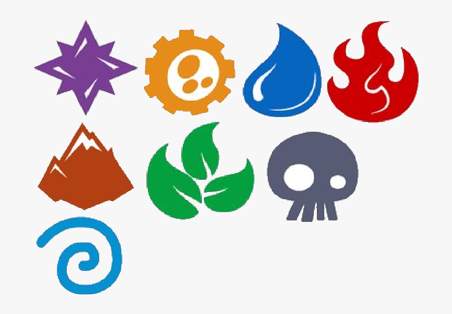Elemental clipart png library stock Elemental Clipart Transparent Background - Skylanders Elements ... png library stock
