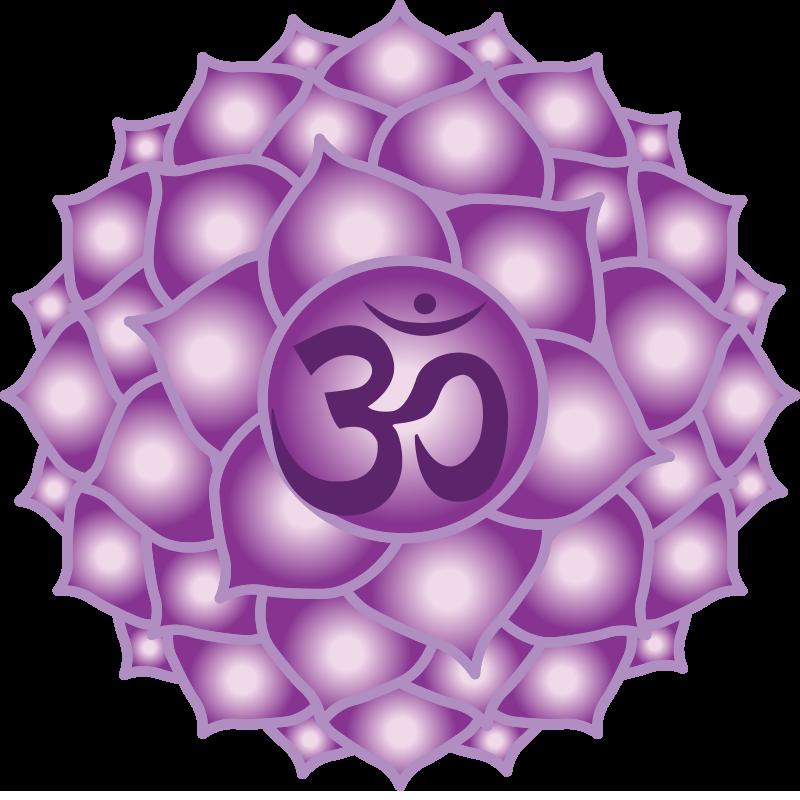 Elemental crown clipart svg freeuse download Crown Chakra Symbol (7th chakra, Sahasrara)   Chakra   Pinterest ... svg freeuse download