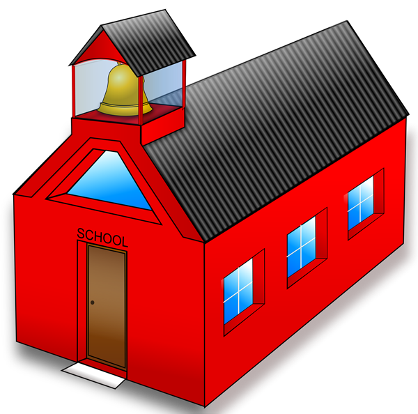Elementary school building clipart image black and white download Parent and Community Info / Homepage image black and white download