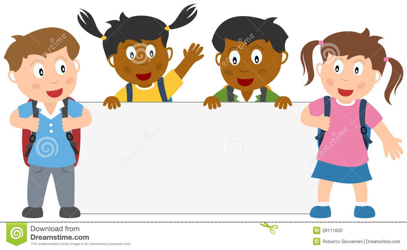 Elementary school kids clipart vector stock 40+ School Children Clipart   ClipartLook vector stock