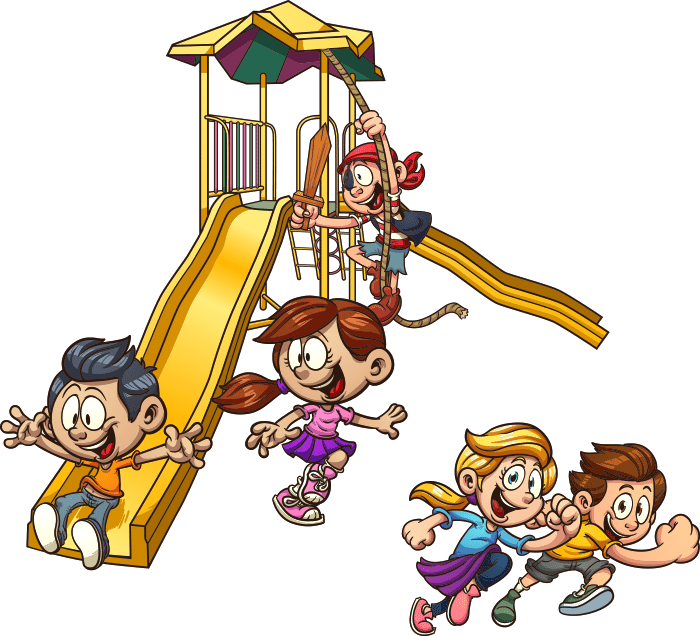Kids playing on school playground clipart image transparent download School Break Programs - Boys & Girls Club Of Truckee Meadows image transparent download