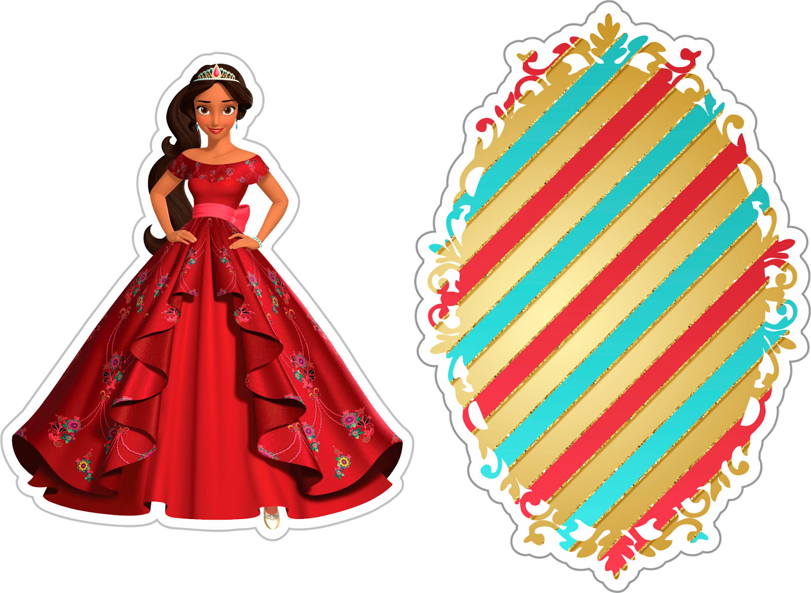Library Of Elena Of Avalor Crown Clip Freeuse Download Png Files