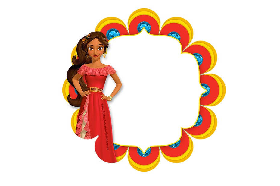 Elena of avalor flower clipart png stock Frame Elena de Avalor | Pinterest | Birthday party ideas and Birthdays png stock
