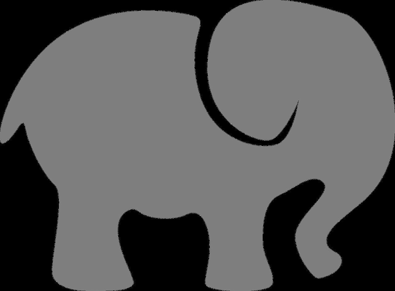 Elephant and piggie trunk clipart pumpkin banner transparent stock Imagen gratis en Pixabay - Elefante, Gris, Silueta, Animales ... banner transparent stock