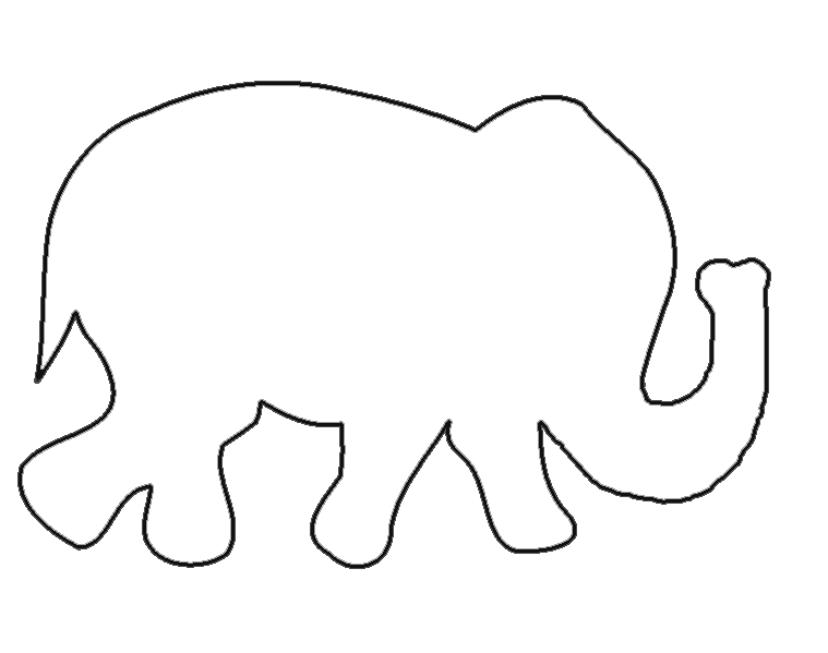 Elephant and piggie trunk clipart pumpkin broken free download Free Elephant Templates | When I first started looking up patterns I ... free download
