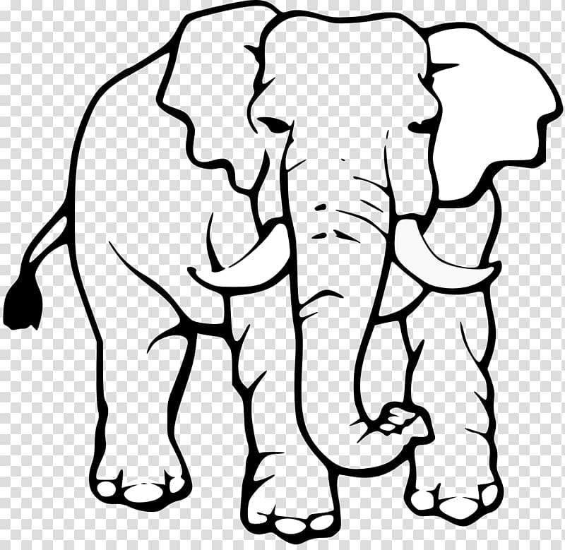 Elephant black and white clipart picture freeuse stock Asian elephant Black and white White elephant , Africa White ... picture freeuse stock
