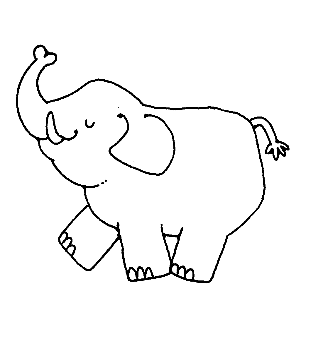 Elephant black and white clipart png freeuse download Free Elephant Images Black And White, Download Free Clip Art, Free ... png freeuse download