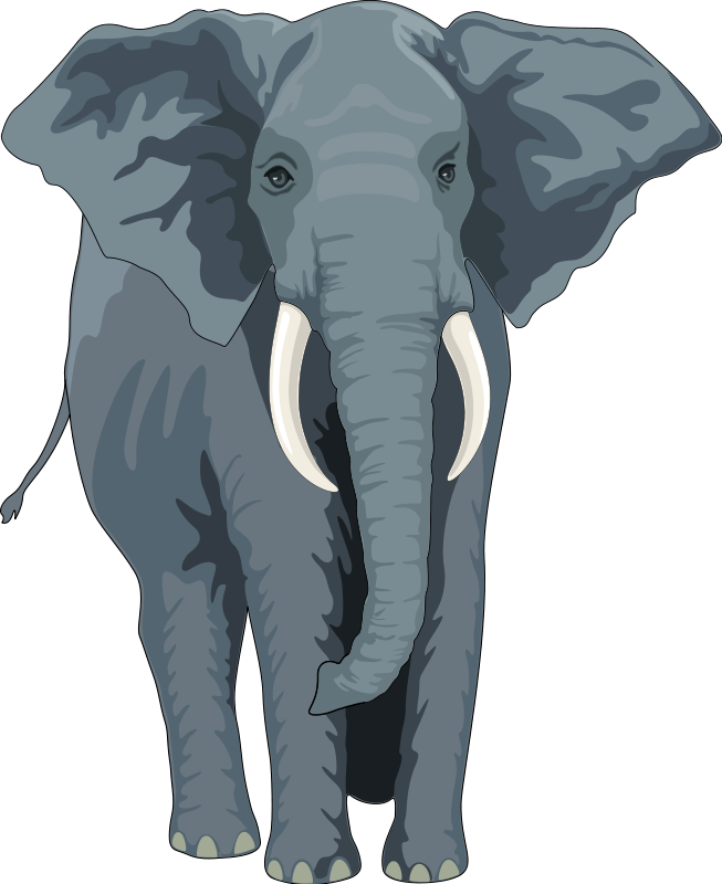 Elephant clipart copyright free clip art library download Elephant (99117) Free SVG Download / 4 Vector clip art library download