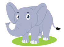 Elephant clipart copyright free library Free Elephant Clipart - Clip Art Pictures - Graphics - Illustrations library