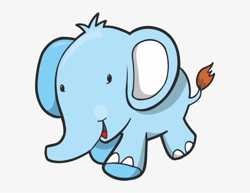 Elephant clipart free download svg royalty free library Free Download Blue Elephant Clipart Elephants Clip - Blue Elephant ... svg royalty free library