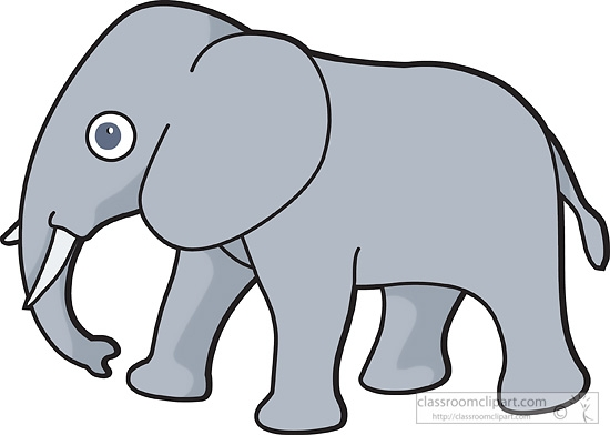 Transparent elephant clipart - ClipartFest vector free library