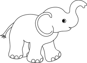 Cute Baby Elephant Clipart - Clipart Kid png transparent download
