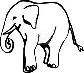 Transparent background elephant clipart black - ClipartFest png transparent stock