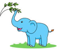 Free Elephant Clipart - Clip Art Pictures - Graphics - Illustrations png freeuse library