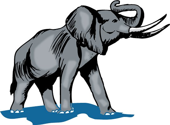 Elephant Clip | Free Download Clip Art | Free Clip Art | on ... vector royalty free